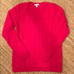 Sweaters - SZ XL Lilly Pulitzer cashmere v neck sweater